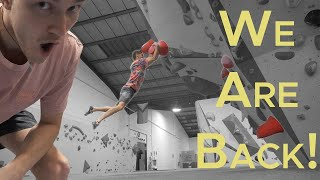 First DYNO in 4 Months by Bouldering Bobat