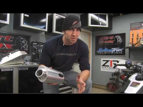 Barker Exhaust Install on Yamaha Nytro