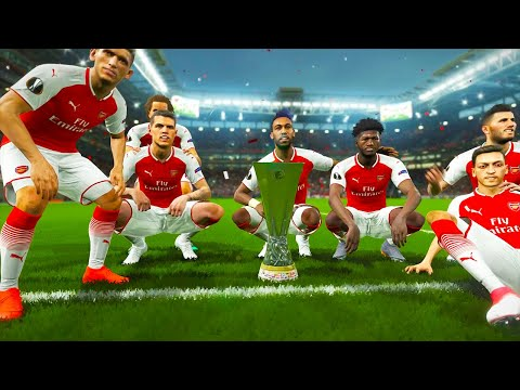 UEFA Europa League FINAL 2019 Gameplay - Chelsea vs Arsenal