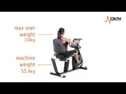 DKN RB-4i Recumbent Exercise Bike Overview