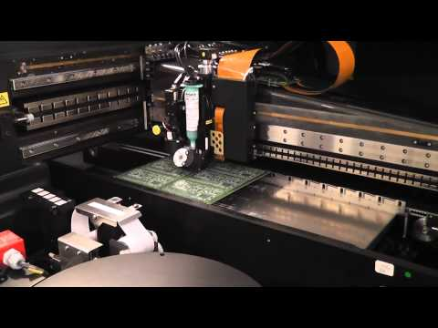 Solder Jet Paste Printing for Surface Mount PCB Assembly (BGA & PoP capability) (видео)