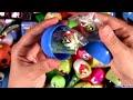 Huge 105 Surprise Eggs Pocoyo PeppaPig Monster High Disney Frozen HotWheels Cookie Monster
