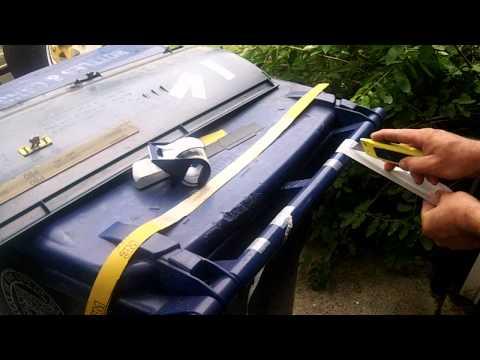 DIY HOMEMADE GRINDING BELT TUTORIAL