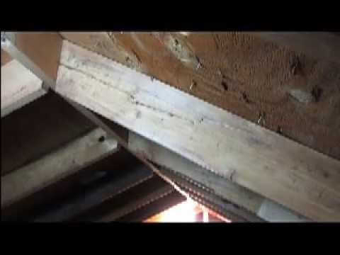 HOW TO REPAIR A SPLIT RAFTER