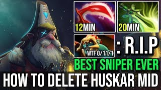 Download Video 12Min Desolator [Sniper] How to Destroy Solo Midlane Huskar BEST SNIPER PLAYER BY FN DOTA 2 7.20e MP3 3GP MP4
