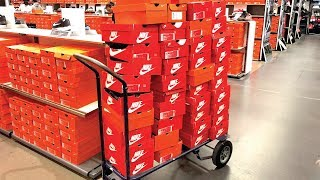 I BOUGHT A DOLLY FULL OF SHOES AT THE NIKE OUTLET!
