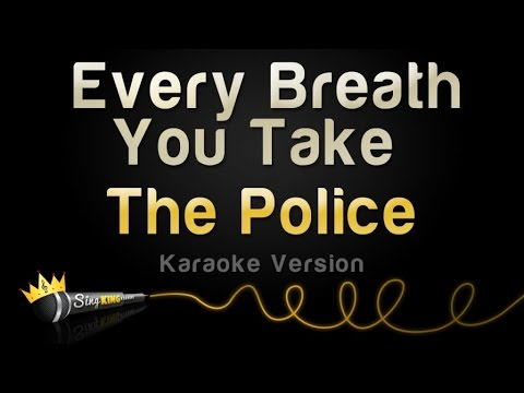The Police - Every Breath You Take (Karaoke Version)