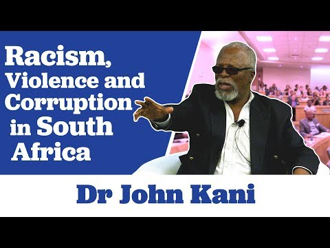 Dr John Kani on The Issues of Racism, Violence and Corruption