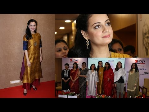 Dia Mirza Attend Power Women Seminar To Celebrating Women