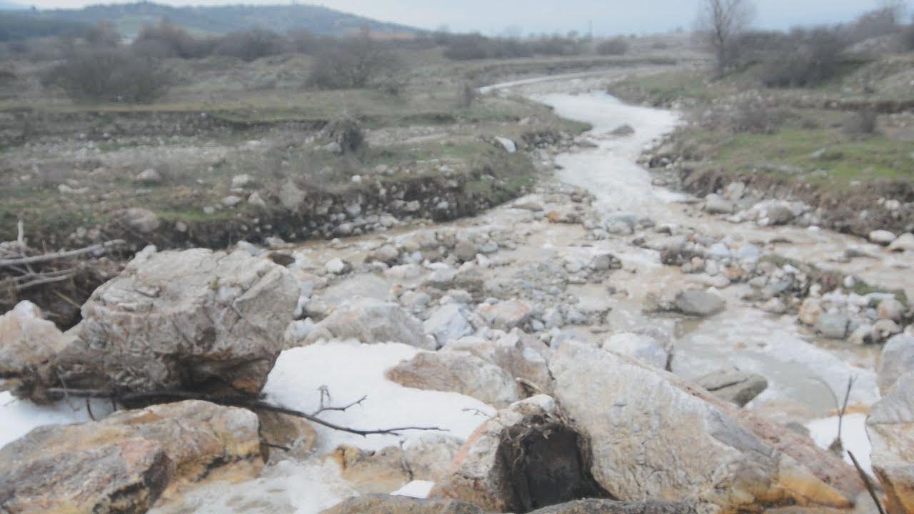 Περιβαλλοντική ρύπανση του Τιταρήσιου ποταμού στην περιοχή Τυρναβου-Ελασσόνος