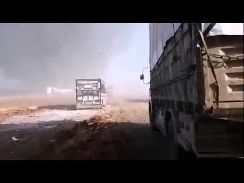 СИРИЯ в ОГНЕ ВКС РФ уничтожили конвой боевиков ИГИЛ   SУRIА Russiаn jетs dеsтrоуеd ISIS соnvоу - DomaVideo.Ru