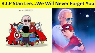 Video Goodbye Stan Lee: Best Of Fans Tribute Arts All Over The World MP3, 3GP, MP4, WEBM, AVI, FLV November 2018