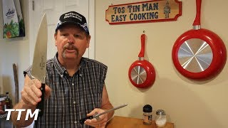 In this video, I announce the winner of the Kuma Chef's Knife and Sharpener.Get a 20% discount on a Kuma Chef's Knife and/or sharpener here. http://bit.ly/tostinman-kumaBuy a Kuma Chef's Knife here. http://amzn.to/2vnlkEsBuy a Kuma Knife Sharpener here. http://amzn.to/2gNkDBh