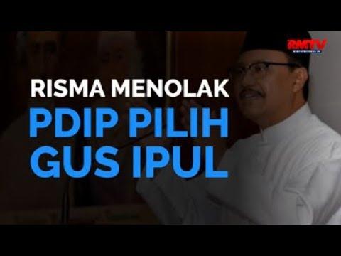 Risma Menolak, PDIP Pilih Gus Ipul