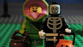 LEGO Halloween Of Minifigures  Series 14    BRICK FILM   STOP MOTION !!!