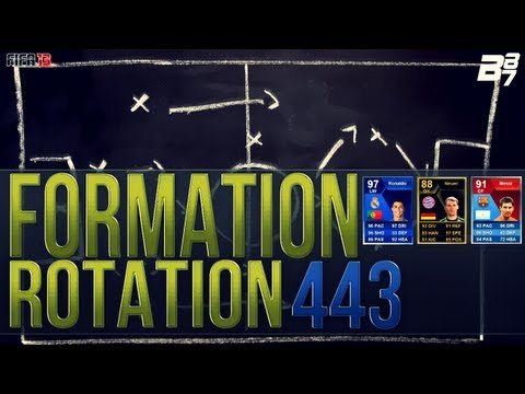 FIFA 13 UT | Formation Rotation | 433 Squad Builder w/ TOTY Ronaldo/91 Messi and more!