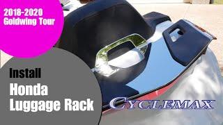 10. Installing Honda Luggage Rack on 2018+ Honda Goldwing Tour