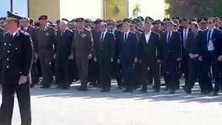 الرئيس السيسي يتقدم جنازة الشهيد ساطع النعماني