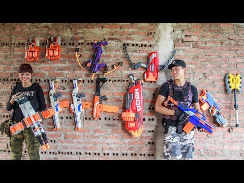 LTT Nerf War : SEAL X Warriors Nerf Guns Fight Criminal Group CrossFire Legends (видео)
