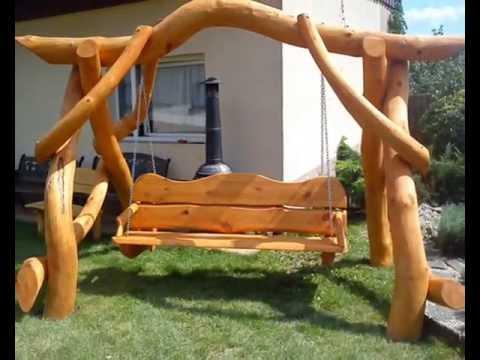 Hollywoodschaukeln, Hollywoodschaukeln aus Holz, Garten Holz Möbel