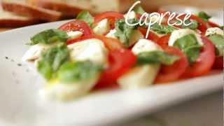 Mozzarella Tomaten Salat (Insalata Caprese)