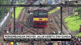 Perkembangan pembangunan proyek jalur kereta api dwi ganda atau double-double track (DDT) baru mencapai 40%. Ikuti berita terbaru di tahun 2017 dengan kemasan internasional berbahasa Indonesia, dan jangan ketinggalan breaking news 2017 dengan berita terakhir dan live report CNN Indonesia di https://www.cnnindonesia.com dan channel CNN Indonesia di Transvision.