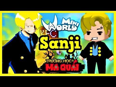Trường Học Ma Quái: -tập 10- 1 ngày làm Sanji   Thử thách nuôi heo và nấu heo quay trong ngày tết - Thời lượng: 11 phút.