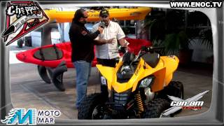 5. DS 250cc. CAN-AM  BRP CUATRIMOTO ENOC.TV