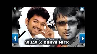 Vijay and Surya Mega Star Hits | Super songs Surya and Vijay Juke Box