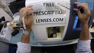 Watch as I make premium the new standard when i cut unbreakable Rx invisible progressive bifocals with Transitions XTRAactive gray lenses with Crizal Anti Glare for Sonny's Cazal 623 in color 65 Crystal. New Britian Ct. is about to look even better. Email any questions to freeprescriptionlenses@gmail.com