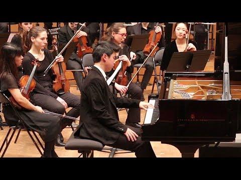 RAVEL Concerto pour la main gauche - Kojiro OKADA, piano - Orchestre symphonique du CRR de Paris