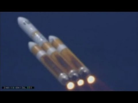 rocket - The world's largest rocket operating successfully launched today, August 28th 2013 at 18:03 UTC from Vandenberg Air Force in California. The 23 story rocket carried the top secret NROL-65 payload...