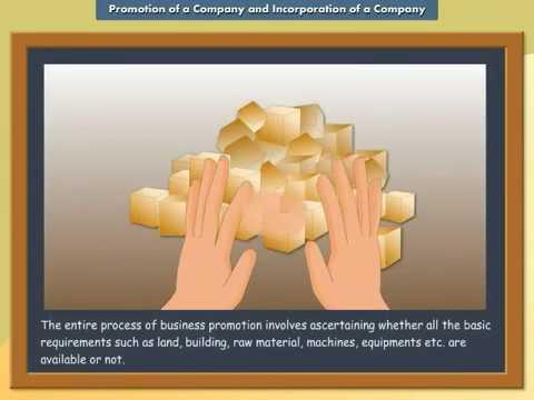 Promotion of a Company and Incorporation of a Company | IkenEdu | CBSE | ICSE