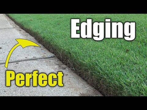 Edging Bermuda Grass (видео)