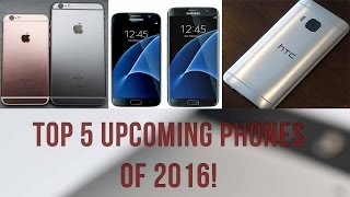 The new smartphones of 2016 [VIDEO]