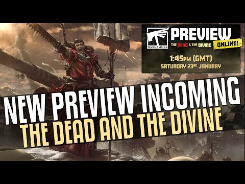 NEW Preview Incoming! Dead and the Divine!