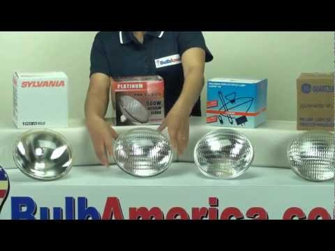 500 watt PAR56 light bulb differences
