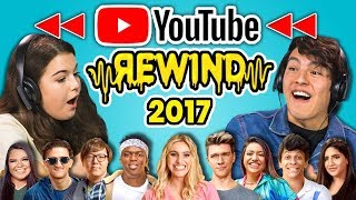 Video TEENS REACT TO YOUTUBE REWIND 2017 MP3, 3GP, MP4, WEBM, AVI, FLV November 2018
