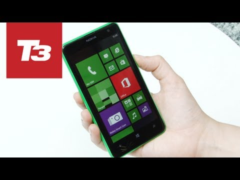 Nokia Lumia 625 hands-on video