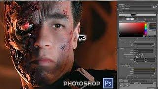 """Crea tu propio fotomontaje con efecto TERMINATOR (la película) con Photoshop CS6, CC, CS5, CS4...A continuación presento como podemos crear un efecto """"Terminator"""" el cual aplicaremos a cualquier formato de imagen o fotografía a un estilo Profesional.¿Como lograrlo?Para hacer el efecto """"Terminator"""" utilizaremos el programa """"Photoshop"""" tanto en Mac-Apple como en PC-Windows; verán que esta es una manera fácil y sencilla para lograrlo.En esta ocasión estoy usando la versión CS6 y a continuación les adjunto el link de la imagen de Terminator para su propio uso y/o disposición.¡Hasta la vista... Baby! Effect Terminator:·LINK Imagen FOTO-MONTAJE Terminator A ESCOGER: FOTO TERMINATOR 1:   http://adf.ly/SHaTn FOTO TERMINATOR 2:   http://adf.ly/fYjrk FOTO TERMINATOR 3:   http://adf.ly/fYnXd FOTO TERMINATOR 4:   http://adf.ly/fYsEe FOTO TERMINATOR 5:   http://adf.ly/fibaC FOTO TERMINATOR 6:   http://adf.ly/fidzh FOTO TERMINATOR 7:   http://adf.ly/fifd6 FOTO TERMINATOR 8:   http://adf.ly/fiiQu FOTO TERMINATOR 9:   http://adf.ly/fijhy FOTO TERMINATOR 10: http://adf.ly/filBx·FONDO de PANTALLA HD: http://adf.ly/cAnRT http://adf.ly/finDK http://adf.ly/fio87_______________________________________Más Vídeos:·Gana dinero con tu teléfono móvil - APPNANA http://youtu.be/LepjhlHm27M·Descarga vídeos en HD desde Youtube - GetTube http://youtu.be/Lu2jjwghWkw·HolaSoyGerman usa Bots http://youtu.be/KNSoP9bN890·Película completa Dragon Ball Z """"La Batalla de los Dioses"""" http://youtu.be/LIAf-PO-SrI·Google Street View recorre tus calles http://youtu.be/sqtgya7BRJA·Pantalla azul de la muerte en iPhone http://youtu.be/Px9beoXNTAI_______________________________________Síguenos en:·Twitter: https://twitter.com/RicardoAndreh·Facebook: https://facebook.com/MacDiario·Instagram: http://instagram.com/ricardoandreh·Youtube: http://bit.ly/MacDiary_______________________________________"""