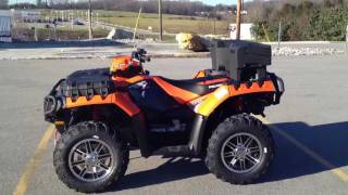 5. 2012 Polaris Sportsman XP 850 H.O. EPS Orange Madness LE