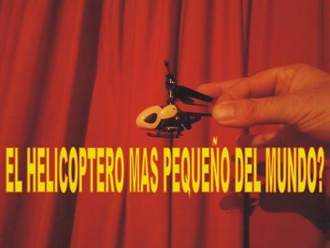 helicóptero más pequeño, es incréble...