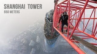 Climbing the second highest building in the world