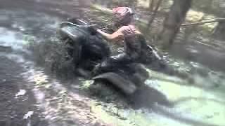 10. 2005 yamaha wolverine 350 mudding