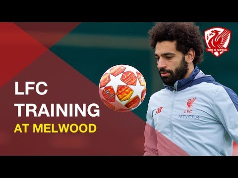 Liverpool FC Training | Featuring Mane, Salah And Alisson
