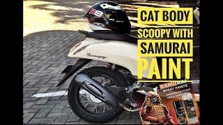 Video Cat body motor Scoopy cream dengan Samurai Paint. Cuma 190 Ribu hasil Josss ! MP3, 3GP, MP4, WEBM, AVI, FLV Oktober 2018