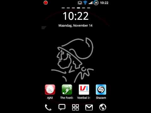 Video of Ajax live wallpaper for RLW