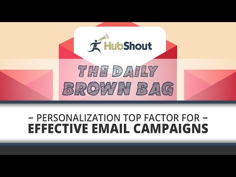 Personalization Top Factor for Effective Email Marketing Campaigns