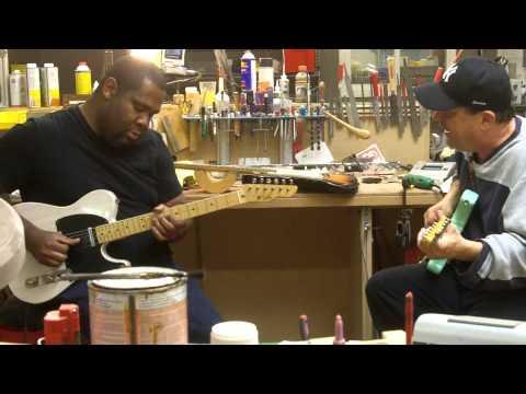 Kirk Fletcher & Steve Trovato @ LsL Instruments
