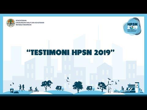 Hari Peduli Sampah Nasional 2019 - Opening Video Testimonial - Dirjen PSLB3 KLHK